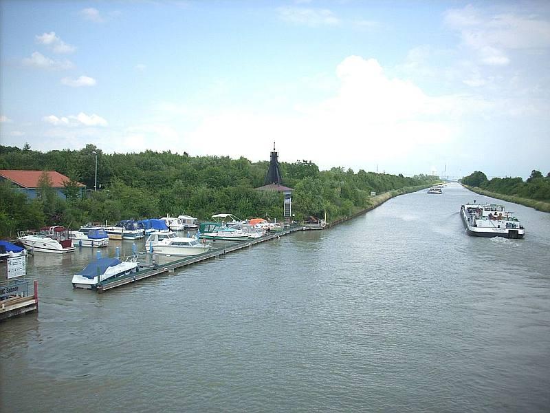 Mittellandkanal bei Sehnde